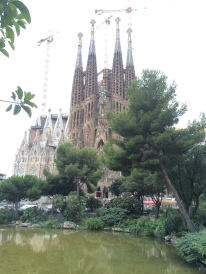 Sagrada Familia, a major setting in the story